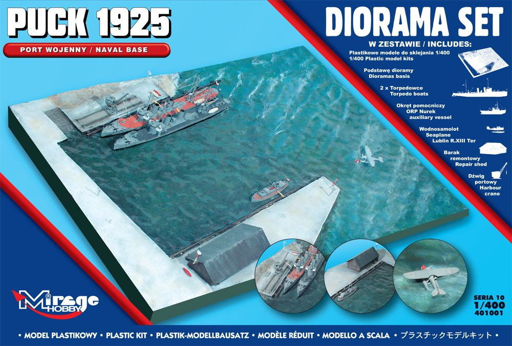 Mirage 1/400 Puck 1925 Naval Base Diorama Set # 401001