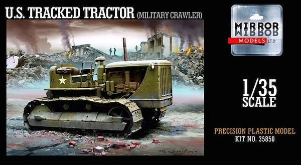 Mirror Models 1/35 D7 7M Tractor (Military Variant) # 35850
