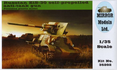 Mirror Models 1/35 Russian ZiS-30 Self-Propelled Anti-Tank Gun #