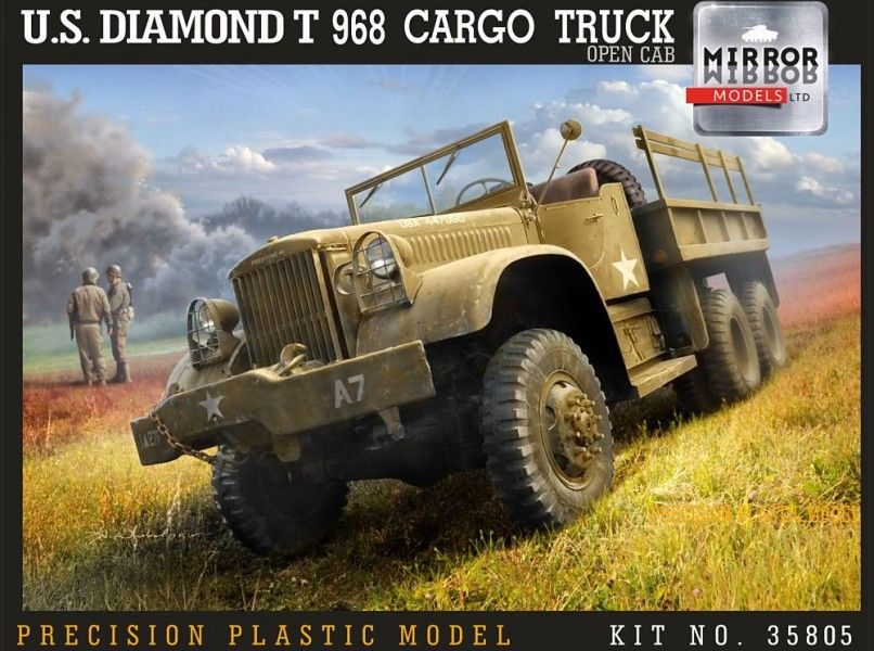 Mirror Models 1/35 U.S. Diamond T 968 Cargo Truck Open Cab # 35805