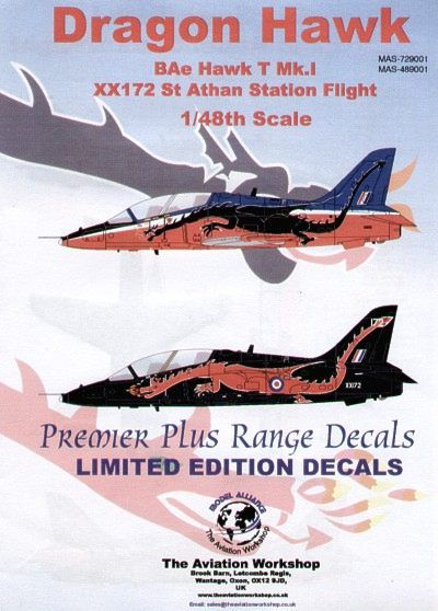 Model Alliance 1/48 BAe Hawk T.1A # 489001