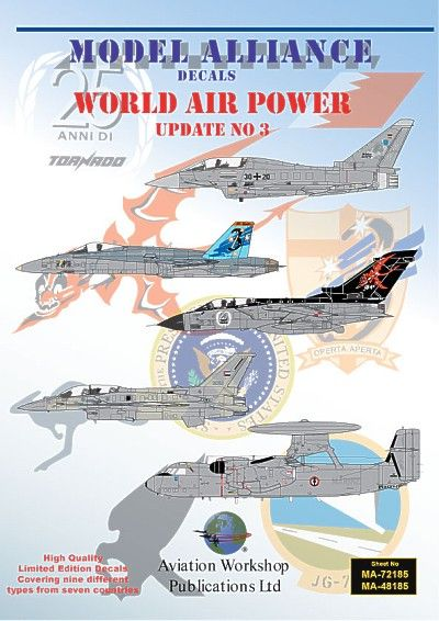 Model Alliance 1/48 World Air Power Update No. 3 # 48185
