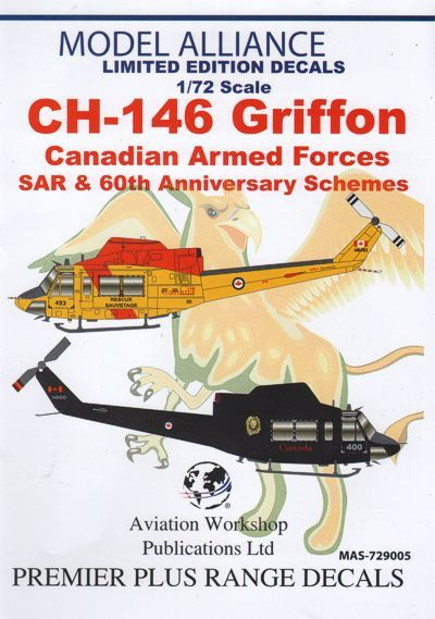 Model Alliance 1/72 Bell CH-146 Griffon Canadian Air Force # 729