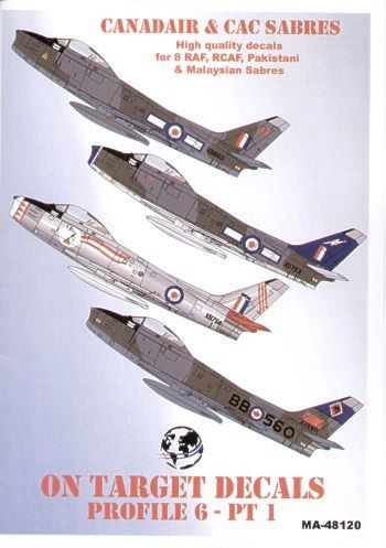 Model Alliance 1/72 North-American F-86 Canadair and CAC Sabres