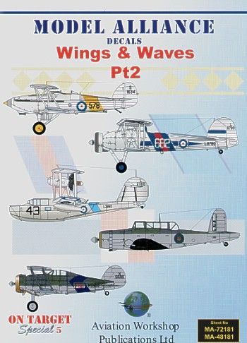 Model Alliance 1/72 Wings and Waves Part 2 # 72181