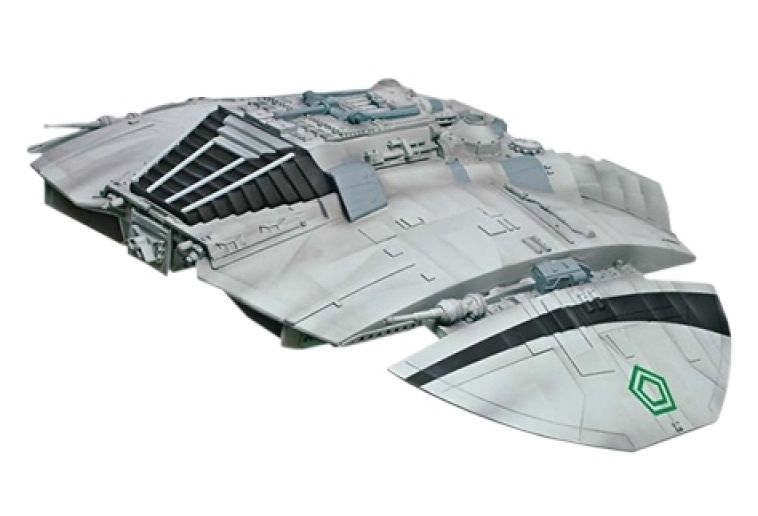 Moebius 1/32 Battle Star Galactica Classic Cylon Raider Pre-Finished Model # 2941