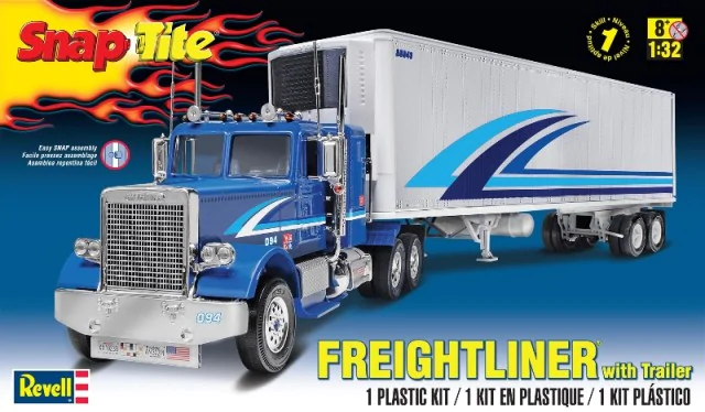 Monogram 1/32 Freightliner and Trailer # 85-1981