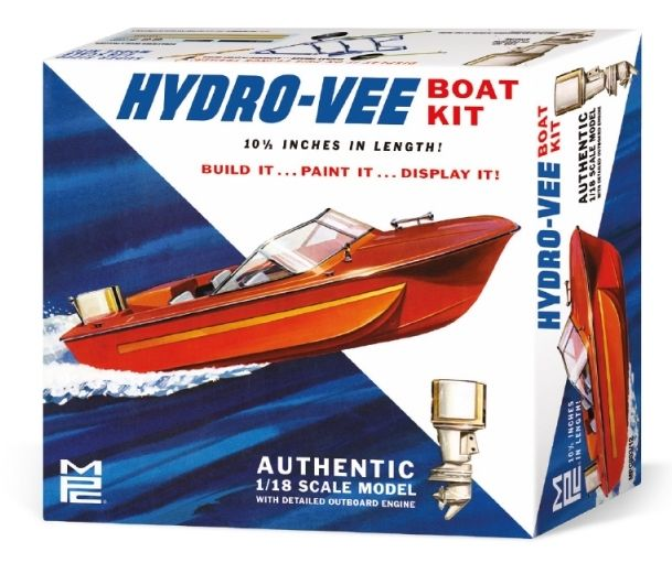 MPC 1/18 Hydro-Vee Boat Kit # 883