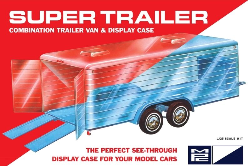 MPC 1/25 Super Trailer Display Case # 909