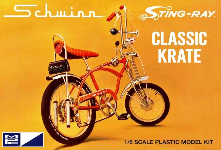 MPC 1/8 Schwinn Sting-Ray Classic Crate 5/Speed Bicycle # 914