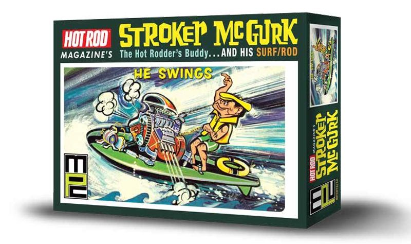 MPC - Hot Rod Magazine Stroker McGurk The Hot Rodder's Buddy & His Surf/Rod # 873