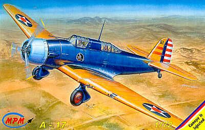 MPM 1/72 Northrop A-17 Early Version # 72504