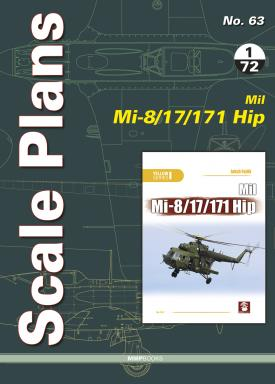 Mushroom - Scale Plans No.63 Mil Mi-8/17/171 HIP Dariusz Karnas # 063