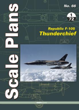 Mushroom - Scale Plans No.66 (1/72) Republic F-105 Thunderchief Dariusz Karnas # 066
