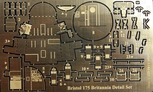 NH Detail 1/144 Bristol Britannia 175 Series 300 Detail Set # NHA144021
