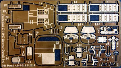 NH Detail 1/144 Fairchild C-119C Boxcar Detail Set # NHA144018
