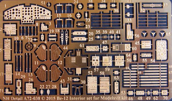 NH Detail 1/72 Beriev Be-12 Interior # NHA72038