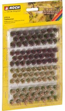 NOCH - Wild Flowers Grass Tufts 6mm (52) and 12mm (46) # N07014