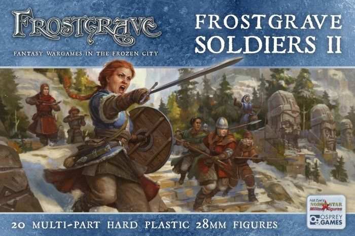 North Star 28mm Frostgrave Barbarians # FGVP04