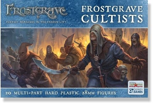 North Star 28mm Frostgrave Cultists # FGVP02