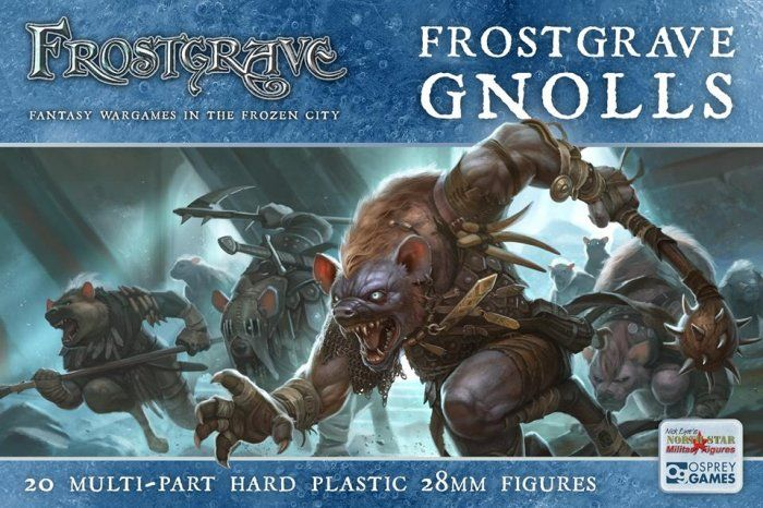 North Star 28mm Frostgrave Gnolls # FGVP03