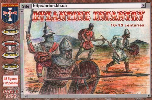 Orion 1/72 Byzantine Infantry 10-13 Centuries # 72044