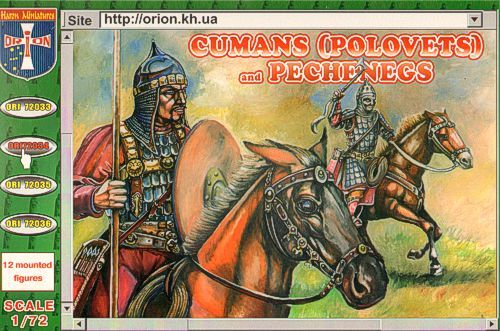Orion 1/72 Cumans (Polovets) and Pechengs # 72034