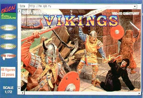 Orion 1/72 Vikings VIII-IX Century # 72004