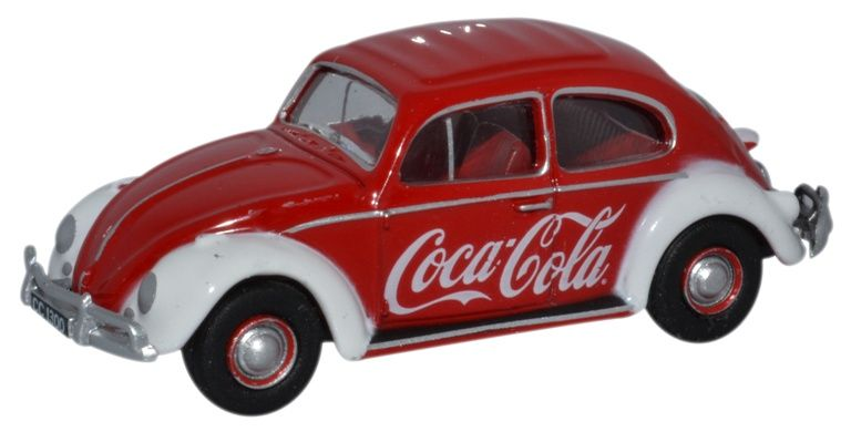 Oxford 1/76 Coca-Cola VW Beetle # 76VWB009CC