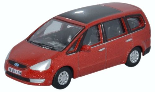Oxford 1/76 Ford Galaxy Tango Red # 76FG003