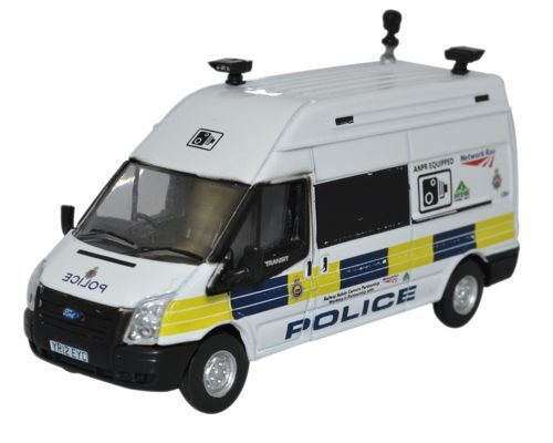 Oxford 1/76 Ford Transit LWB High Network Rail Speed Camera # 76FT026