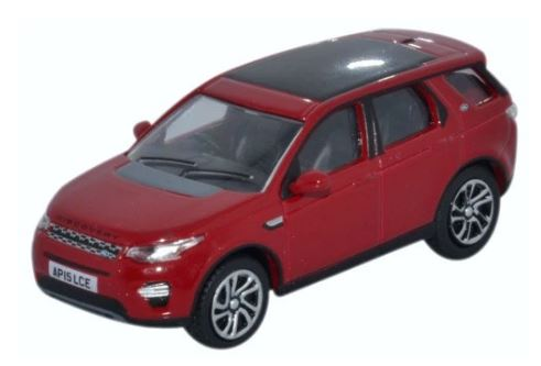 Oxford 1/76 Land Rover Discovery Sport Firenze Red # 76LRDS002
