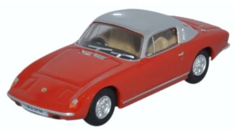 Oxford 1/76 Lotus Elan Red and Silver # 76LE003
