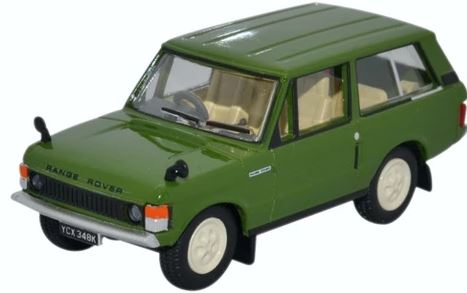 Oxford 1/76 Range Rover Classic Lincoln Green # 76RCL001
