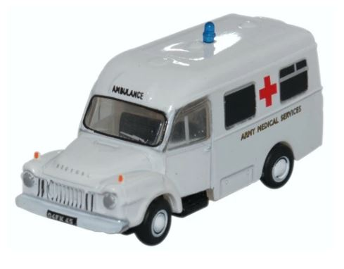 Oxford N Gauge Bedford J1 Ambulance Army Medical Services # NBED006