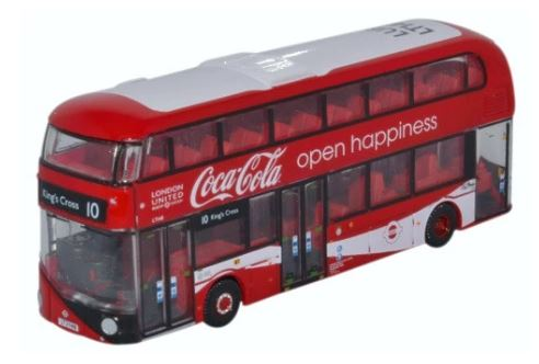 Oxford N: Gauge Coca-Cola New Routemaster - London United # NNR004CC