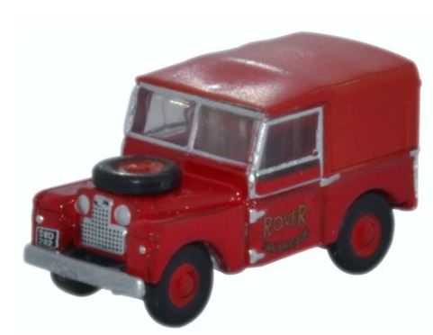 Oxford N: Gauge Land Rover Series 1 Rover Fire Brigade # NLAN188010