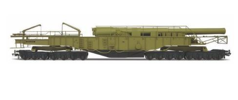 Oxford Railway 1/76 Railgun Gladiator WWII # OR76BOOM02