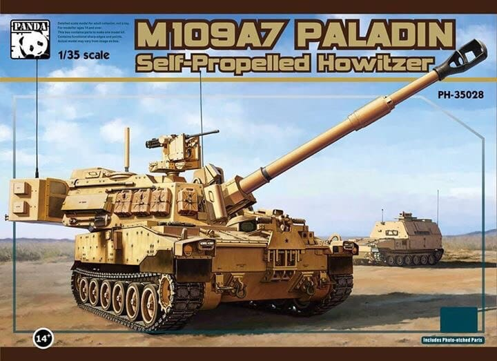 Panda 1/35 M109A7 Paladin Self-Propelled Howitzer # 35028