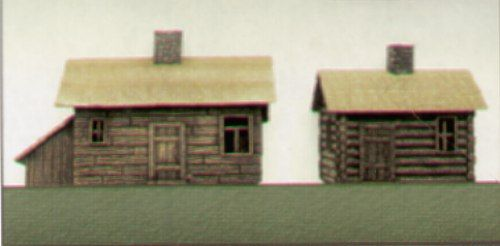 Pegasus Hobbies 1/144 Cottage and Cabin # 0850