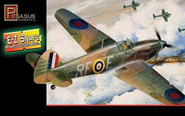 Pegasus Hobbies 1/48 Hawker Hurricane Mk.I # 8411