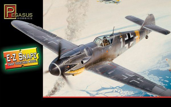 Pegasus Hobbies 1/48 Messerschmitt Bf109 G-6 # 8413