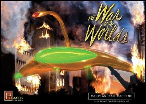 Pegasus Hobbies 1/48 The War of the Worlds - Martian War Machine # 9001