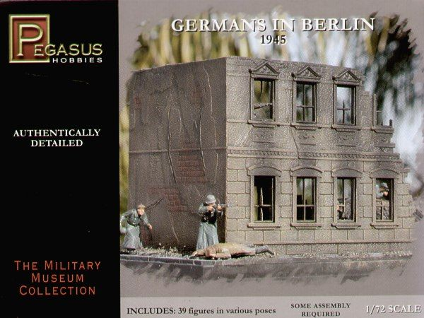 Pegasus Hobbies 1/72 German Infantry in Berlin 1945 (WWII) # 7228