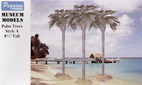 Pegasus Hobbies 1/72 Large Palm Trees Style A 22cm (8.5') # 6501