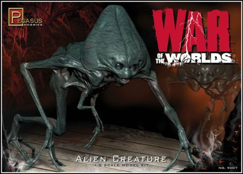 Pegasus Hobbies 1/8 Alien Creature from 'War of the World' # 900
