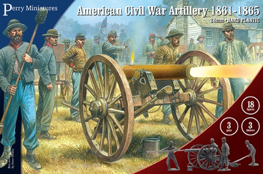 Perry Miniatures 28mm American Civil War Artillery 1861-1865 # ACW90