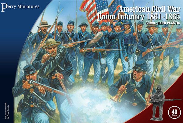 Perry Miniatures 28mm American Civil War Union Infantry # ACW115
