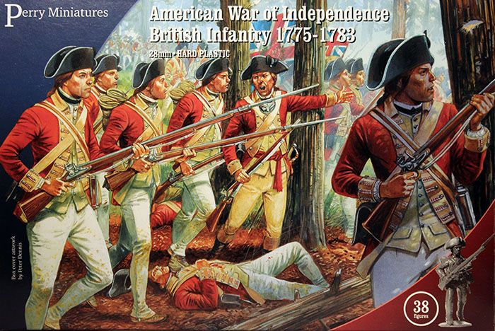 Perry Miniatures 28mm American War British Infantry 1775-1783# AW200