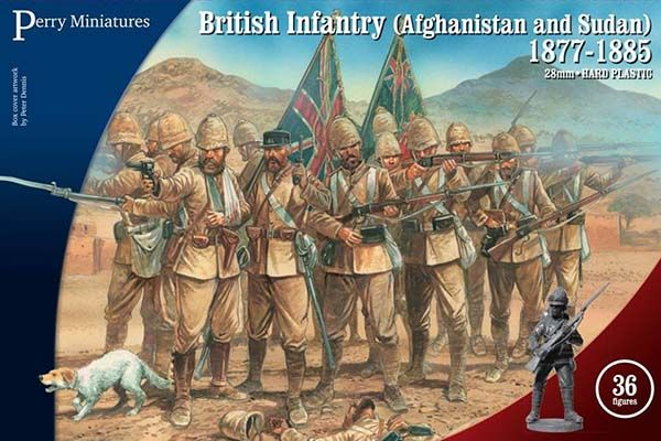Perry Miniatures 28mm British Infantry (Afghanistan and Sudan) 1877-1885 # VLW1